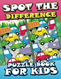 Spot The Difference Puzzle Book For Kids