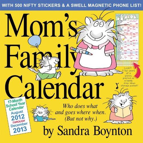 Mom's Family Wall Calendar 2013