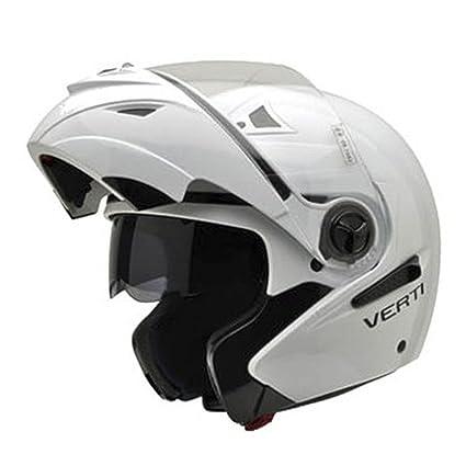 NZI 150207G113 Verti W Casque de Moto, Blanc, Taille : XXXL