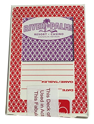 Lot de 4 paquets de Secret de qualité Casino Jeu Poker cartes - Rio - Paris - Rivière Palms - Tropicano