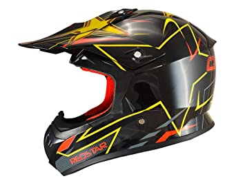 Casque cross adulte CHOK Redstar (L)