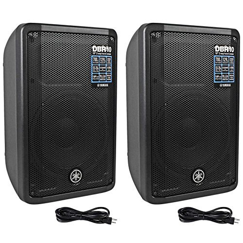 Yamaha Car Audio: Yamaha DBR10 700-Watt Powered Speaker