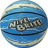 Baden Nite Brite Lightning Basketball, Blue/Glow, Size 4