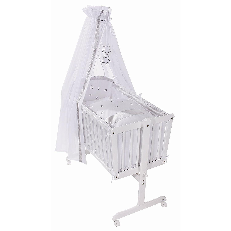 Easy Baby Wiege Komplettset weiß, Silverstar 182-33 bestellen
