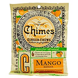 MANGO GINGER CHEWS BAG 5oz(pack of 3)