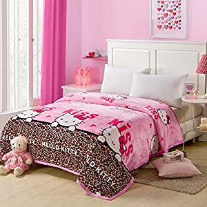 northern lights blanket series hello kitty. Black Bedroom Furniture Sets. Home Design Ideas