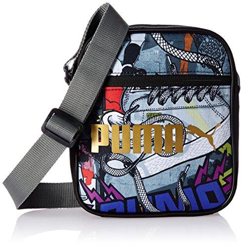 Puma Campus Portable Tracolla - Nero (Nero/Graffiti) - M