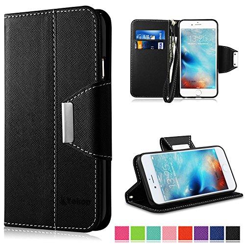 Vakoo-Custodia-iPhone-6-Plus-Cover-Stile-Libro-Cover-Premium-Custodia-in-PU-Pelle-Flip-Case-Wallet-Cover-per-iphone-6-Plus-6S-Plus-Nero