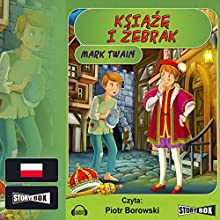 Ksiaze i zebrak Audiobook by Mark Twain Narrated by Piotr Borowski