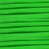 Paracord Planet 10, 25, 50, 100 Hanks & 250, 1000 Spools of Parachute 550 Cord Type III 7 Strand Paracord Over 200 Colors -Safety Green-