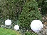 Sonderangebot des Monats: Hochwertige Außenleuchte Kugelleuchte Gartenleuchte 3er Set Marlon