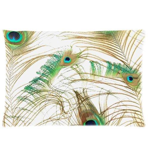 Peacock Print Bedding Set front-137227