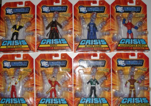 Buy Low Price Mattel Dc Universe Infinite Heroes Wave 1 Figures Set Of 8 (B001GN1O7I)