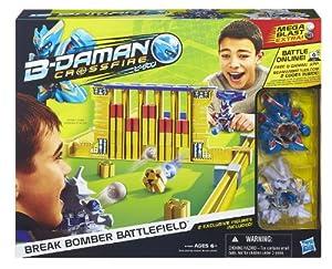 B-Daman Crossfire Break Bomber Battlefield Set
