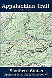Appalachian Trail Pocket Maps - Southern States (Volume 1)