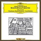 バッハ:ブランデンブルク協奏曲第1番-第4番,第6番