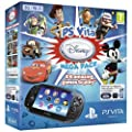 Console PS Vita 3G : M�ga Pack : Jeux � t�l�charger Disney + Carte M�moire 8 Go