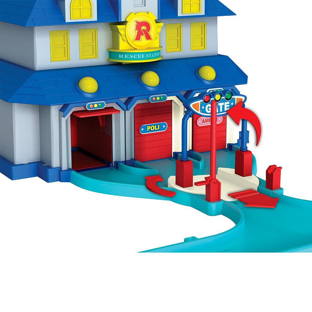 ouaps 83156 jouet de premier age robocar quartier general jeux et jouets. Black Bedroom Furniture Sets. Home Design Ideas