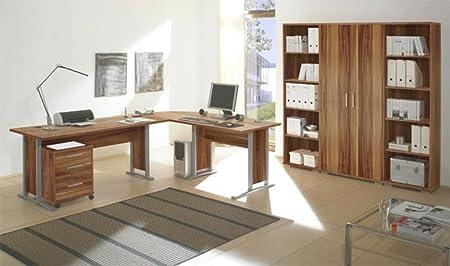 Office Line Heimburo 7-tlg. walnuss Dekor
