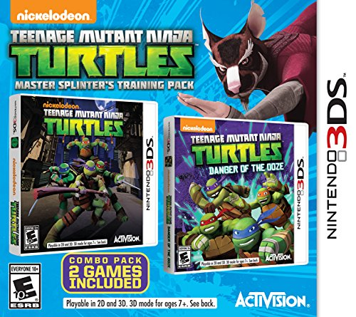 Teenage Mutant Ninja Turtles Master Splinter's Training Pack - Nintendo 3DS (Tmnt Ninjas In Training compare prices)