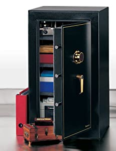 Executive Safe (Black) (37 3/4″ H x 21 11/16″ W x 19 1/2″ D)