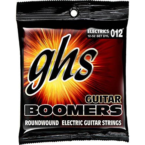 Ghs Strings Electric Guitar Boomer Set Gbm 011 (Medium Nickel Steel)