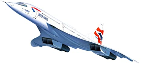 Revell - 04997 - Maquette D'aviation - Concorde British Airways - 162 Pièces - Echelle 1/72