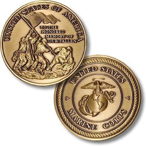 Marines - Iwo Jima Bronze Antique