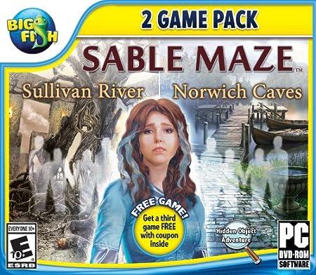 Big Fish: Sable Maze 1: Sullivan River and Sable Maze 2: Norwich Caves - PC/Mac