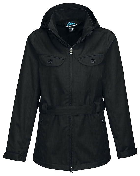 Tri-Mountain Freelance Lightweight Mini-Herringbone Weave Jacket