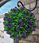 Best Artificial 30cm Purple Lush Lave...