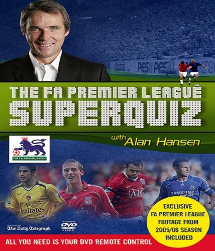 The F.A Premier League Interactive Super Quiz 2007 (With Alan Hansen) [Interactive DVD]