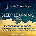 Entrepreneur Boost for Business Success, Growth, Productivity & Motivation: Sleep Learning, Guided Self Hypnosis, Meditation & Affirmations Speech by  Jupiter Productions Narrated by Anna Thompson