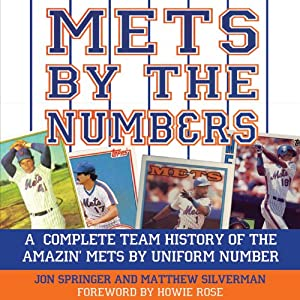 Mets by the Numbers Audiobook