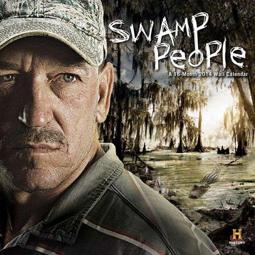 Swamp People 2014 Calendar