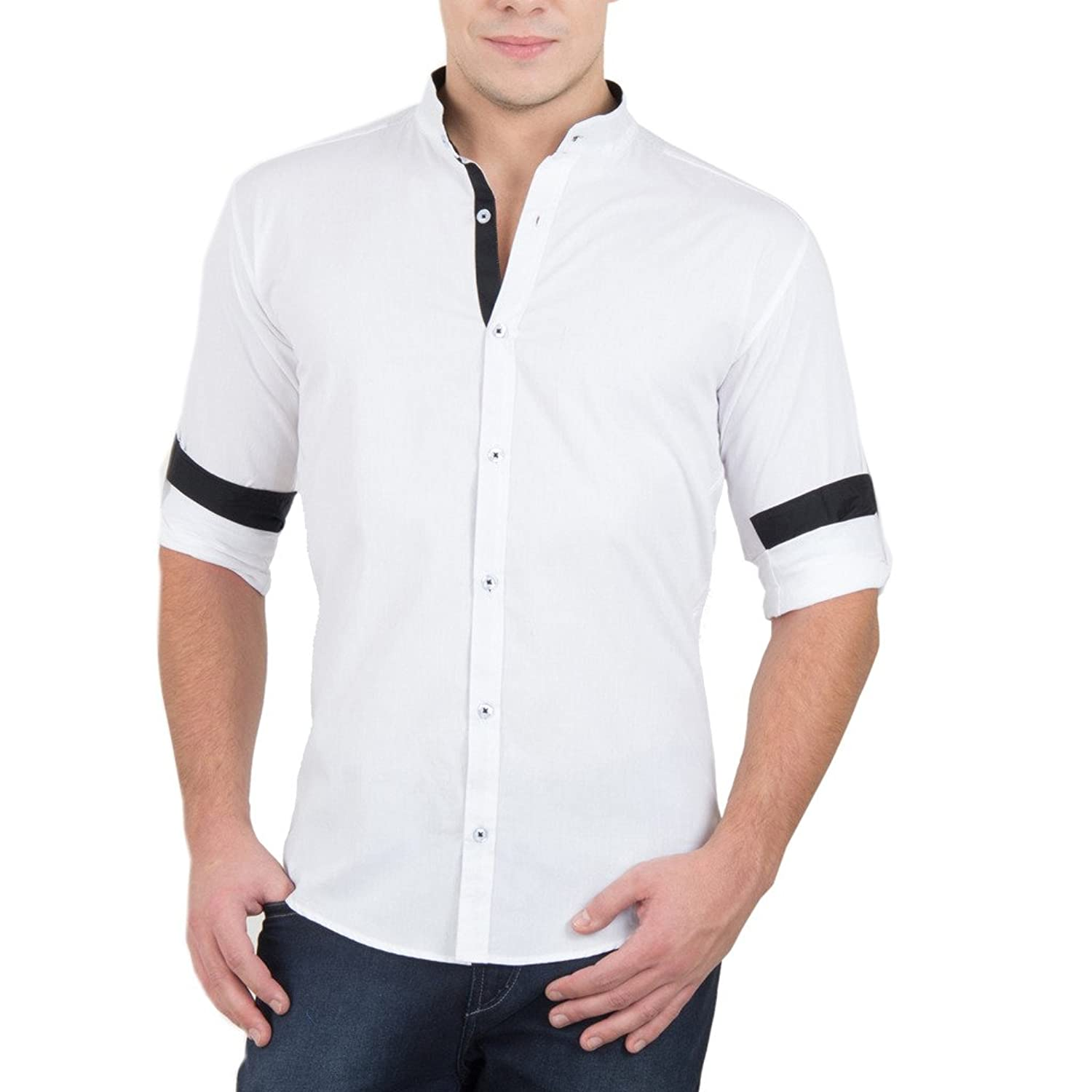 The best casual shirts for men All rules are out of the window when it comes to casual shirts, you can pick whichever matches your style. These can worn as a single layer, or paired with a t-shirt.