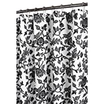 Floral Swirl Watershed Shower Curtain