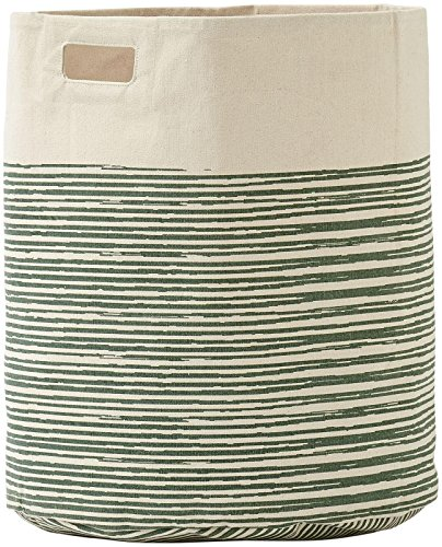 Pehr Designs Pencil Lines Hamper, Celadon