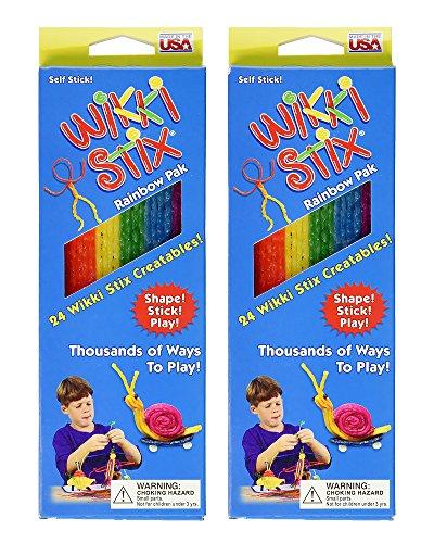 Wikki Stix Rainbow Pak- 2 Pack - 1