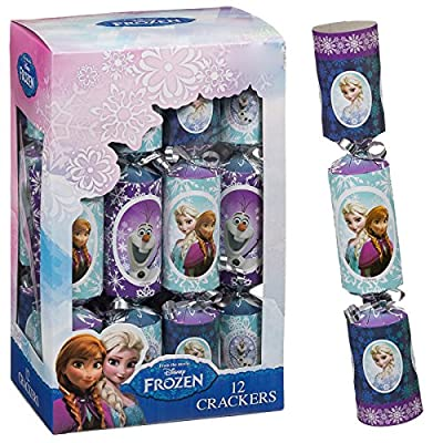 Disney Frozen Christmas Crackers Perfect Kids Party Table Decorations