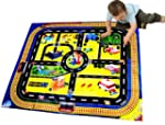 Kids Giant City Playmat Floor Play Ma...