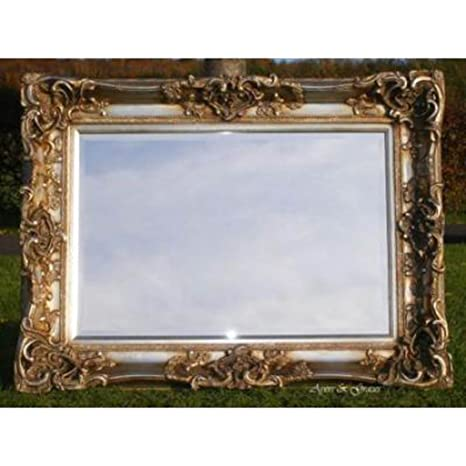 """Hand finished Champagne Monaco Mirror (3ft 6"""" x 2ft 8"""")"""