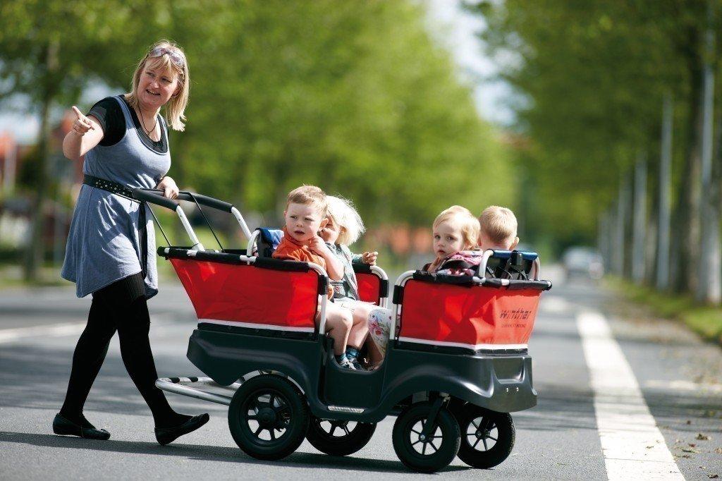 Winther Turtle Kinderbus de Luxe für 4 Kinder bis 5 Jahre online bestellen