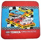 トミカ トミカコレクション TCF ミニタオル コレクション柄 乗用車柄タイプ
