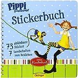Pippi Langstrumpf Stickerbuch