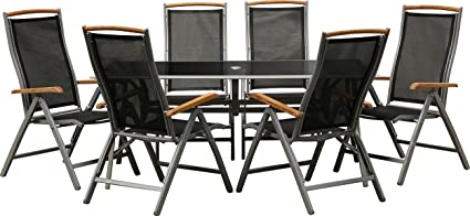"IB-Style - Garden furniture ""Bologna"" with folding chairs 