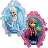 XL 31 Frozen Anna & Elsa Disney Super Shape Mylar Foil Balloon Party Decoration