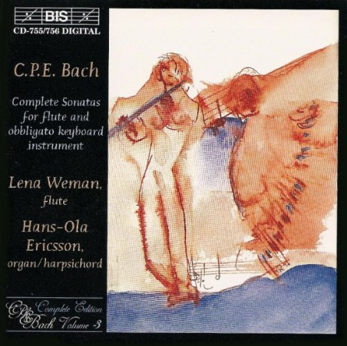 Bach, C.P.E.: Complete Sonatas for Flute and Obligato Keyboard Instrument