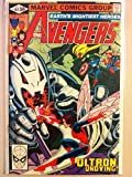 The Avengers #202 Ultron Dec 80 NO MAILING LABEL Very Fine (8 out of 10) by Mickeys Pubs