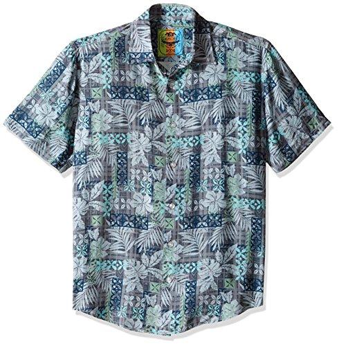 Margaritaville Men's Tapas Print Bbq Shirt, Iron Gate, Large (Gates Bbq Shirt compare prices)